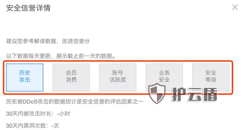 阿里云DDoS基础防护详解防护阈值黑洞时间详细说明